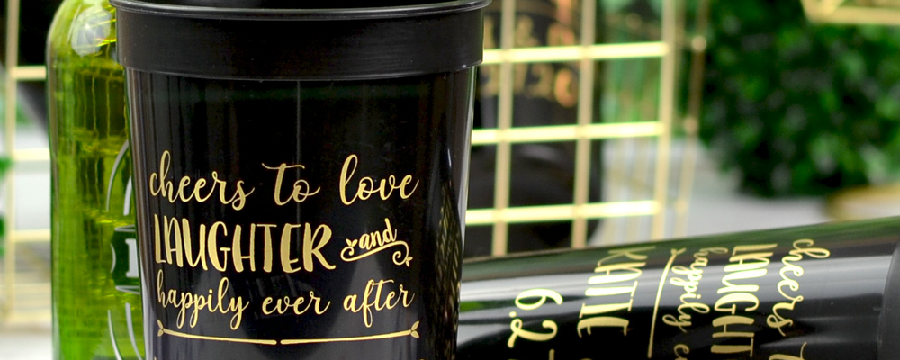 7 Wedding Cups Ideas for Your Wedding Reception